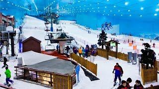 Ski Dubai: a ski resort in the desert