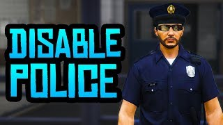 Grand Theft Auto V How to get rid of police?