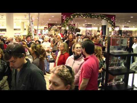 dallas bach society s messiah flash mob at nordst... 22,308 views