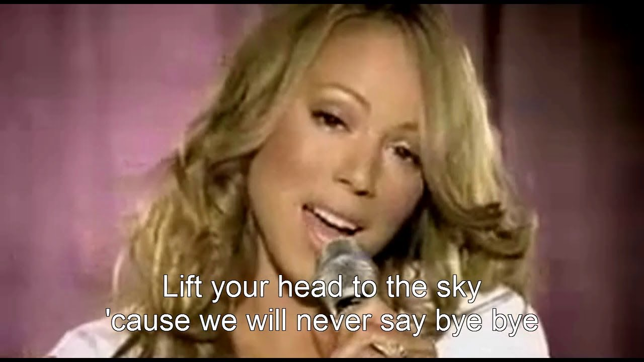 Соблазнительная мэрайя кери (mariah carey) в своем новом видеоклипе на песню bye bye с альбома e=mc2