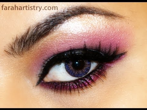 Quick Easy Daytime Pink Eye Makeup