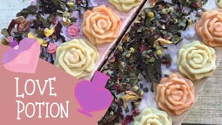 Making Of Love Potion Cold Process Soap & A Personal Health Update | 💟  GYPSYFAE CREATIONS