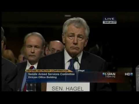 INHOFE OPENING STATEMENT ON NOMINATION HEARING FOR SEN. CHUCK HAGEL AS SECRETARY OF DEFENSE