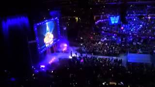 Undertaker returns and old school raw intro!
