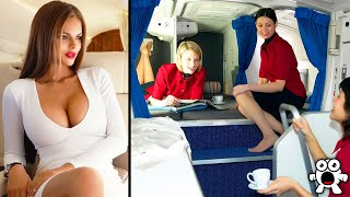 Secrets Flight Attendants Never Tell Passengers