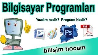 Bilgisayar Programlar Animasyon  Program nedir Yaz