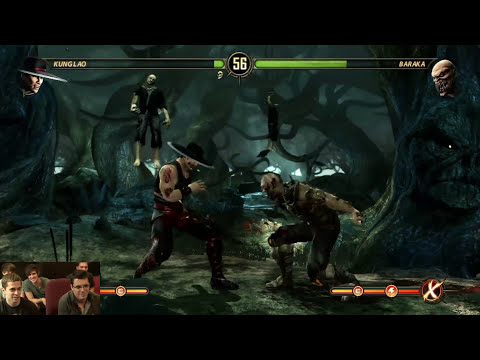 SOMEONE DIES IN MORTAL KOMBAT (Game Bang)