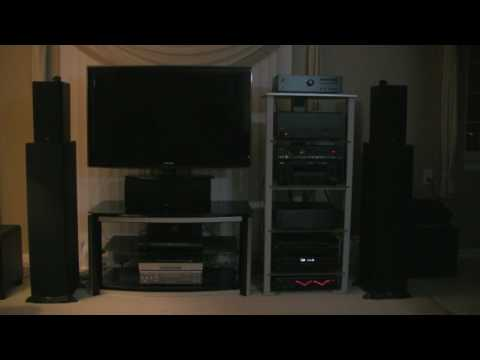 Audiophile demo from Rotel/Adcom/Klipsch Set-up