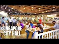 Singapore City: City Hall at Lunch Hour (2021)