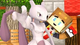 CATCHING MEWTWO IN POKEMON GO! (Minecraft Roleplay)