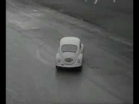 vintage vw beetle footage