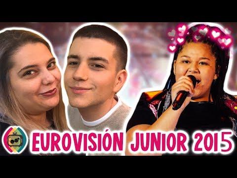 RECORDAMOS EUROVISIÓN JUNIOR 2015 ❤