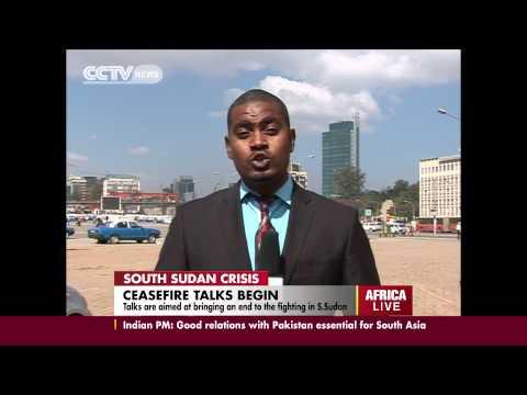 South Sudan cease fire talks begin
