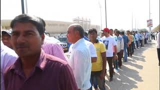 Thousands descend on Sultan Qaboos stadium to see Indian PM Narendra Modi