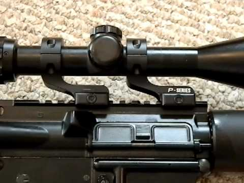 Nikon P Series AR15 scope rings review