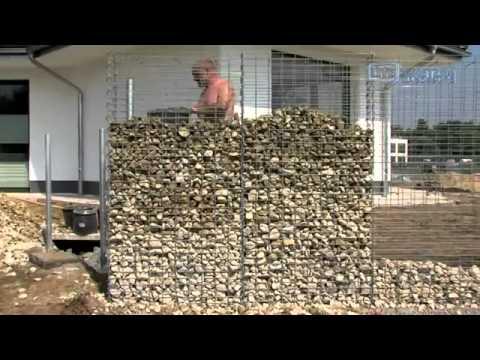 Gabionen selber bauen - Gabionkaiser zeigt wie einfach es geht