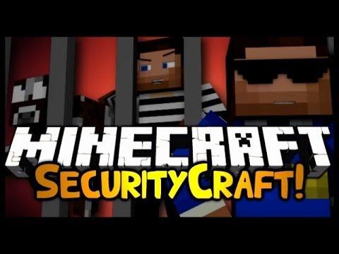 Minecraft: Mod Showcase - SECURITYCRAFT! (1.6.4)