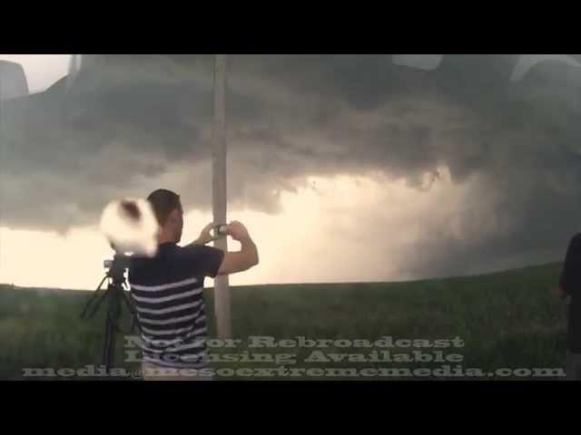 Coleridge Nebraska tornadoes timelapse LIQUID IMAGE EGO June 17 2014