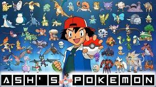All of Ash's Pokémon