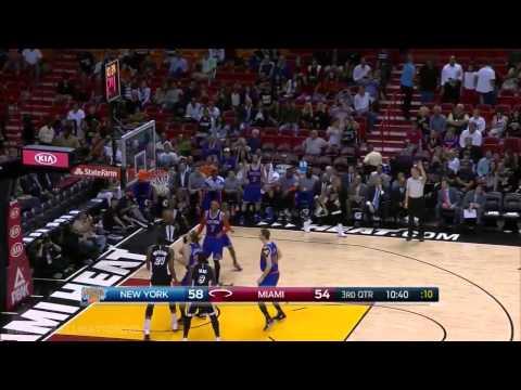 New York Knicks vs Miami Heat | Full Game Highlights | February 9, 2015