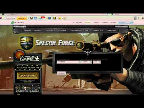 (DFInteractive) Special Force Cheat - May 29, 2012