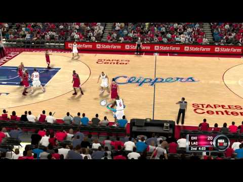 NBA 2K12 Chicago Bulls vs. L.A. Clippers Season - Game 10/82