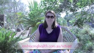 Embracing Health Retreat Testimonial - Lindy
