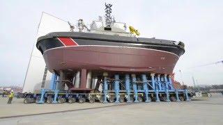 Bollinger's 87-ft Marine Protector Class Patrol Boat
