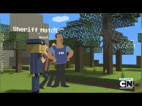 MAD criminal minecraft,parodia