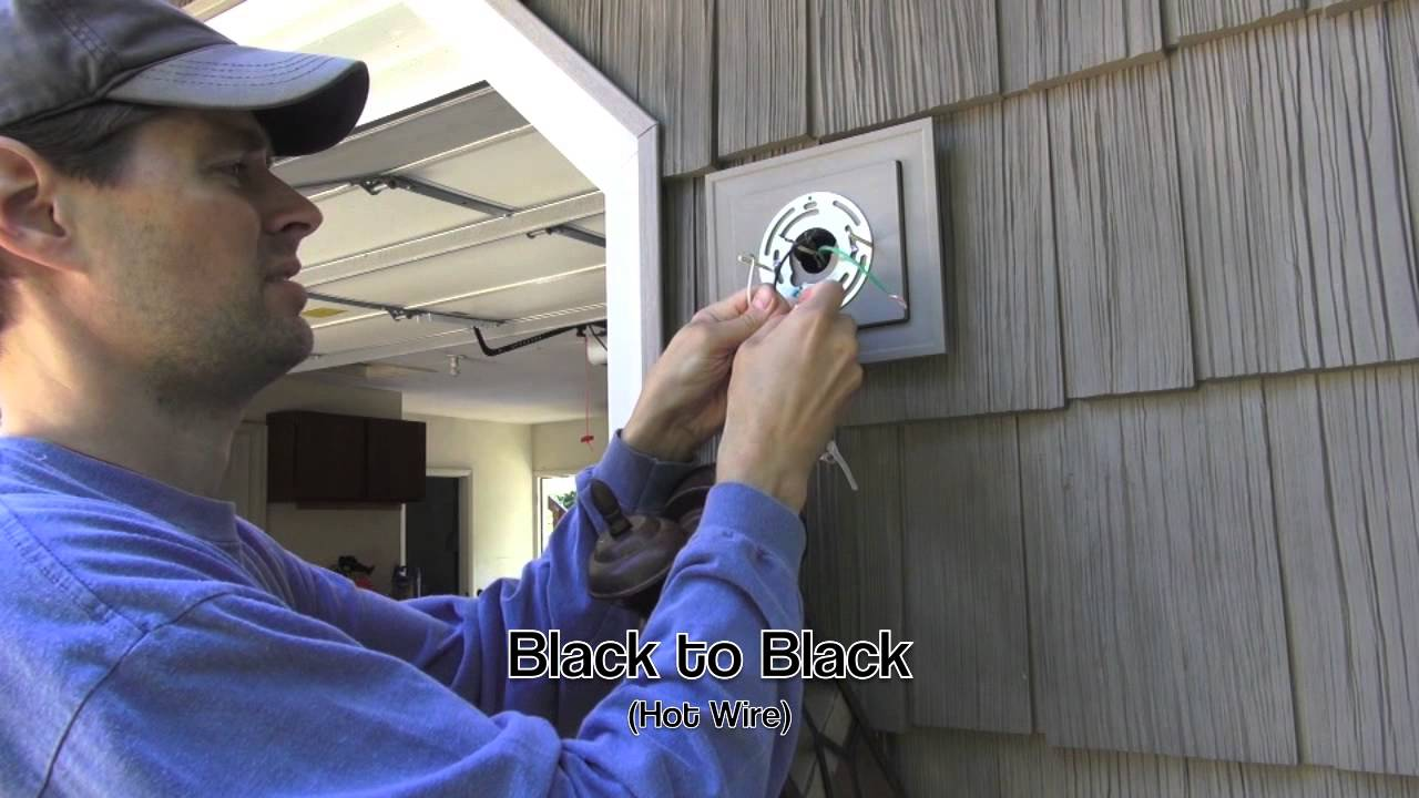 Exterior Wall Lights Installation : Exterior Light Installation on Vinyl Siding Block - YouTube
