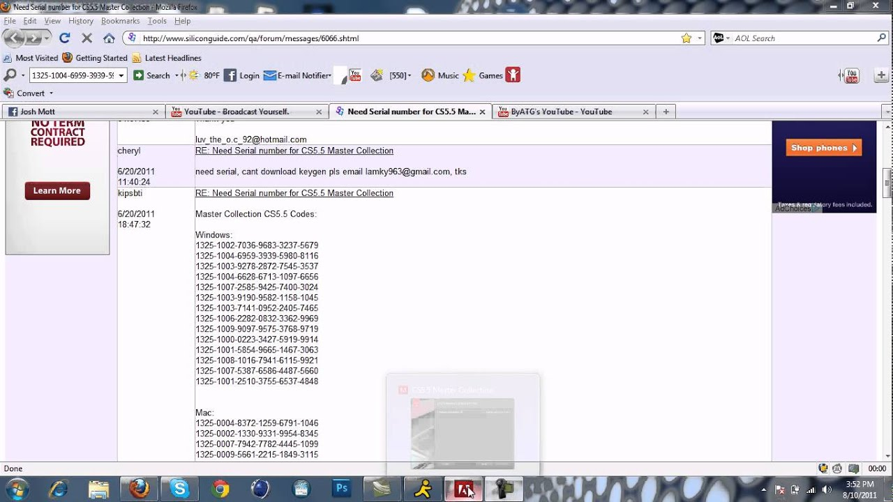 Santos Suporte em TI: Crackeando Adobe CS6 Master Collection