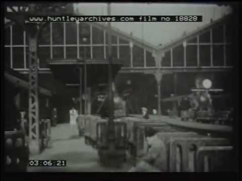 Posh Travel on the Golden Arrow 1930's film 18828