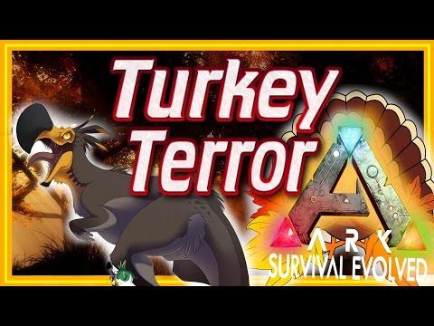 ARK: Turkey Terror - Thanksgiving Event! Tameable Dodo-Rex, Turkeys & Terror Bird (ARK News/Update)