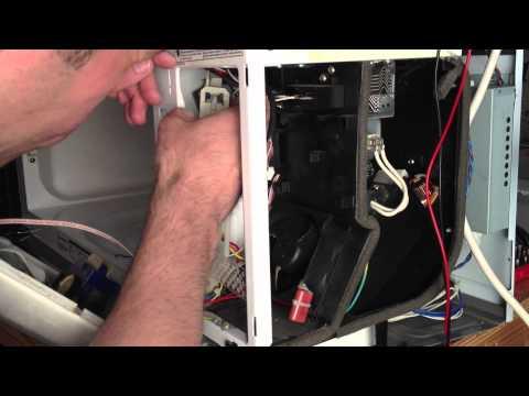 how to fix panasonic microwave h98