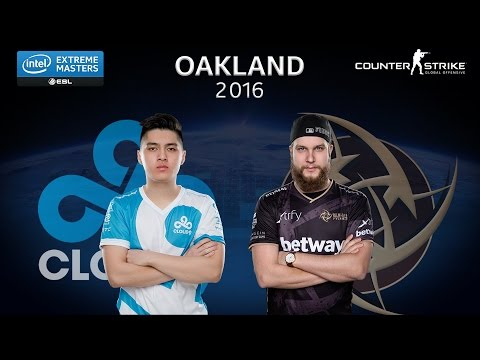 CS:GO - Cloud9 vs. NiP [Train]  - Group B - IEM Oakland 2016