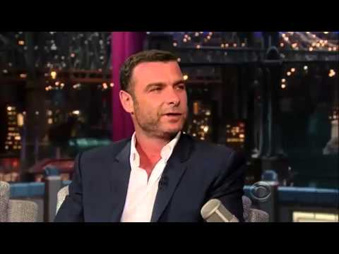 David Letterman - July 18, 2013 - Liev Schreiber, full interview