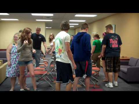 Most intense musical chairs game ever!