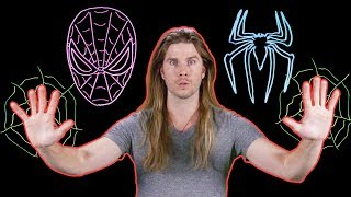 How Can Spider-Man Climb While Wearing a Suit? (Because Science w/ Kyle Hill)