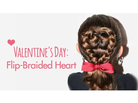 Flip-Braided Heart  Valentine's Day