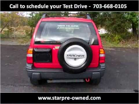 1999 Chevrolet Tracker Used Cars Sterling VA