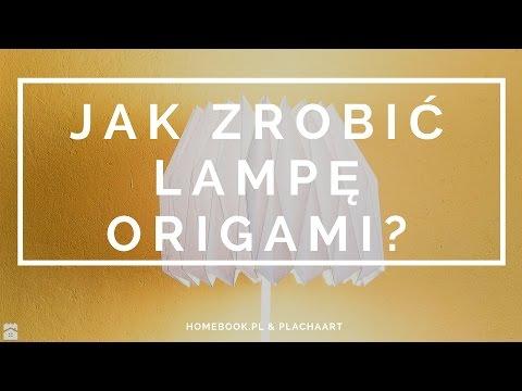 Jak Zrobić Lampę Origami? #DIY