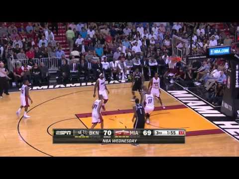 Brooklyn Nets vs Miami Heat   March 12, 2014   NBA 2013-14 Season