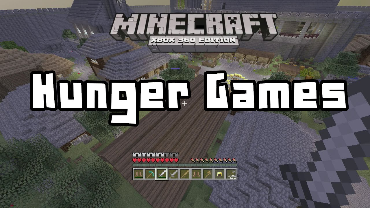 how to play hunger games on minecraft xbox 360