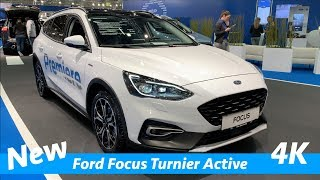 Ford Focus Turnier Active 2019 - quick look in 4K