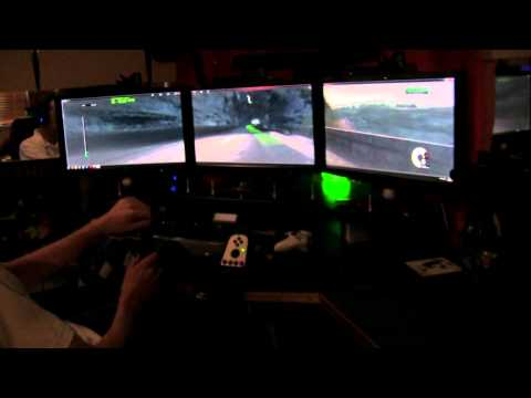 Playseat Office Chair + Logitech G27 and some Racing!