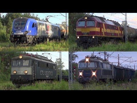 Stacja PKP Częstochowa Mirów - Griffin, Dragon, Sputnik, M62M I Byk W 2 Godziny | 05.08.2018
