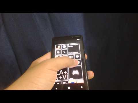 Mudar a cor das tiles do windows Phone 8 para um cor neutra [Preta]