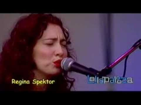 Regina Spektor - Better (lollapalooza 2007)