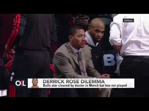 Chicago Bulls Derrick Rose - Break Down On Decision Not To Play video