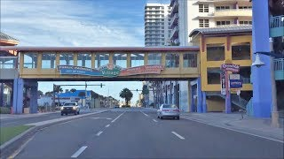 Beach Town Driving - Daytona Beach Florida USA